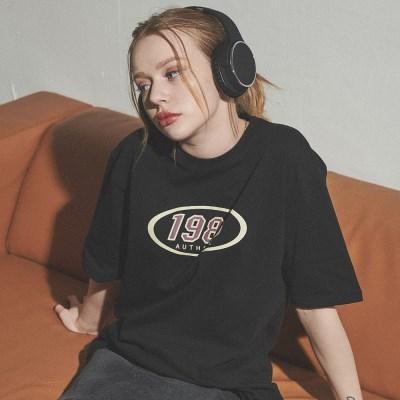 [베러댄88] W2112VB 레트로1988 티셔츠 우먼 밴타블랙