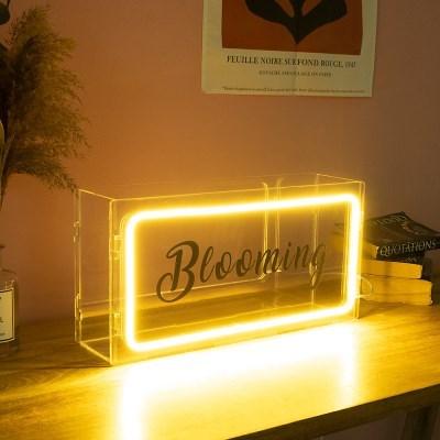 LED 레터링 네온사인주문제작(박스형)