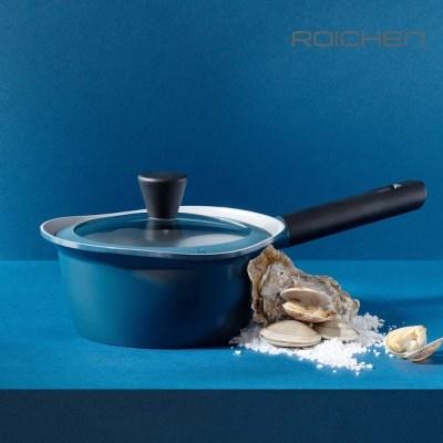채움하다 냄비 18편수 마린 블루 IH 인덕션용 세라믹코팅 냄비