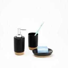 이태리 게디 아이러리 욕실용품 3종세트 블랙_(4435756)