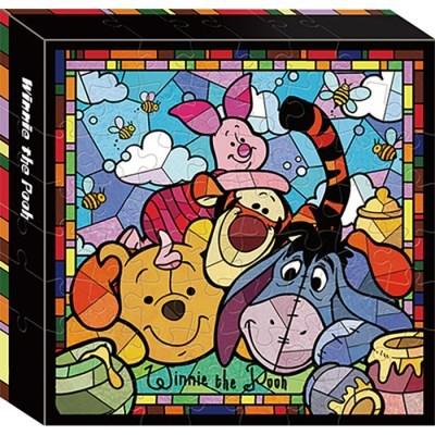 56피스 캔버스퍼즐 - 곰돌이 푸우(플라스틱)