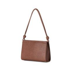 Center bag (Lizard brown) - S008LBR
