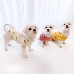 쁘앙 체리 강아지 티셔츠