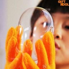 정품 모닝글로리 터지지않는 비누방울 바부버블 장난감