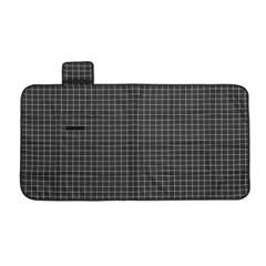 모던체크 방수돗자리(150x80cm) (블랙+화이트)