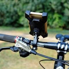 360회전볼 자전거 스마트폰거치대(레드) 오토바이거치