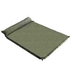 프렌들리 자충식 에어 캠핑매트(190x134cm) (그린)/ 베개 2인용 텐트