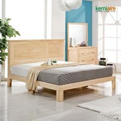 프리미엄 편백나무원목 침대프레임 CMD-201F