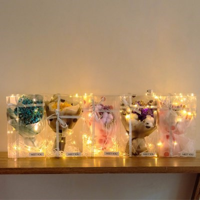 LED 꽃다발 무드등