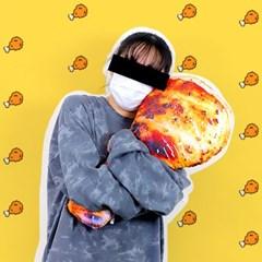 치킨 인형 닭다리 쿠션 55cm 바디필로우 베개_(301868870)