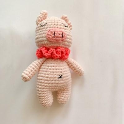 개달당 돼지 꾸리 돼지인형 삑삑이 강아지장난감