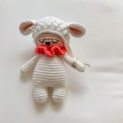 개달당 양 메리 양인형 삑삑이 강아지장난감