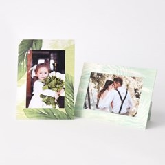 스탠딩 페이퍼프레임 - 4x6 네이처 10매 (종이액자)