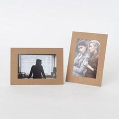 스탠딩 페이퍼프레임 - 4x6 크라프트 10매 (종이액자)