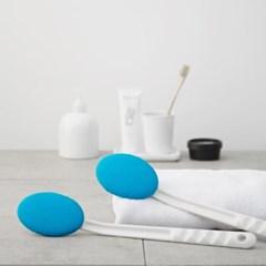 쓱싹 목욕솔  본체+타월 1P 블루 목욕브러시
