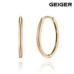 14K 타원 링 원터치 귀걸이 GI14EE300_(1125099)