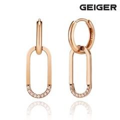 14K 데일리 큐빅 원터치 귀걸이 GI14EE306_(1125094)