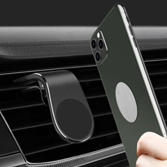 차량 송풍구 마그네틱 스마트폰 거치대(블랙)