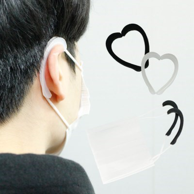 마스크 이어가드 유선형 실리콘 귀아픔 방지 예방