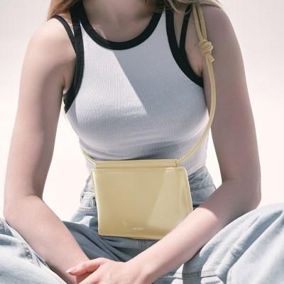 folder bag (Light Yellow) - S011LY