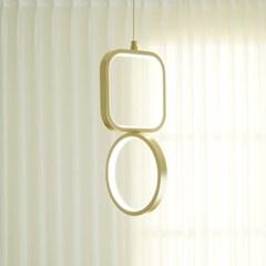 도형 골드 국산 LED 식탁등 펜던트 조명