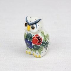 폴란드그릇 아티스티나 도자기 부엉이 소 장식품1535