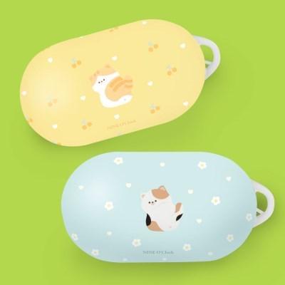 고양이 냥 냥이 패턴 하드 갤럭시 버즈 버즈플러스 케이스