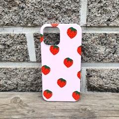 딸기라떼 휴대폰케이스