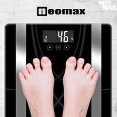 정품 네오맥스 베가 인바디 체지방 체중계 블랙