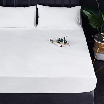 여름용 방수 슈퍼 싱글 침대 매트리스 커버 그레이 화이트