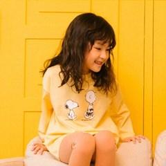스누피 소프트 티셔츠 옐로우