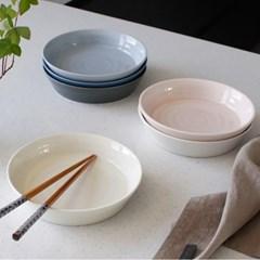 쏠레이 스마일 도자기 찬기(쿠프) 특대-6color