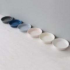 쏠레이 스마일 도자기 찬기(쿠프) 대-6color