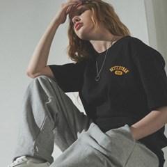 [베러댄88] W3112VB 체스트아치 백로고 티셔츠 우먼 밴타블랙