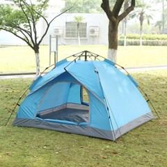 아우터 원터치 텐트(3~4인용/블루)