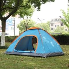 이지캠핑 자동 원터치 텐트(2~3인용/블루)