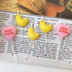 Duckie & Heart Candle 오리와하트캔들