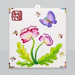 마미아트M-초충도 양귀비와 나비 만들기