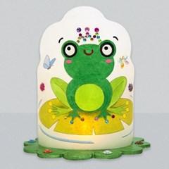 마미아트M-동물 개구리 조명등(전등갓) 만들기