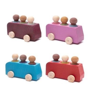 루부로나 lubulona 루부타운 미니버스 미니카 원목교구 장난감