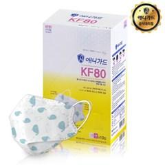 KF80 애니가드 고래 마스크 소형 3매입X10개_총30매