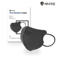 애니가드 더솔루션 마스크 대형 KF94 새부리 블랙 10매 개별 포장