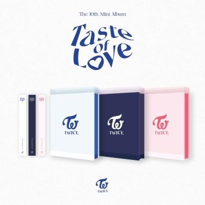 트와이스(TWICE) - 미니 10집 앨범 [Taste of Love]