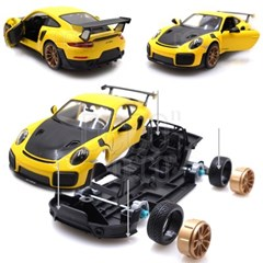 조립키트 1:24 포르쉐 911 GT2 RS 다이캐스트 DIY KIT
