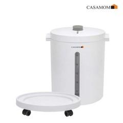 까사맘 무선 진공쌀통 20kg CAA-606 / 갓도정한 쌀처럼