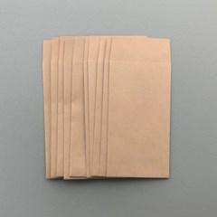 크라프트지 봉투 9x16.5cm 10매