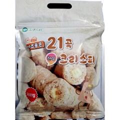 국내산 곡물 대용량 영양간식 [치즈품은 21곡 한입 크리스피] (250g)