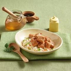 장인정신 제로레시피 허니간장맛 실온 닭가슴살 큐브(60g) 5팩