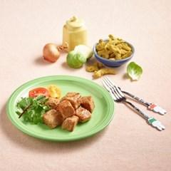 장인정신 제로레시피 카레맛 실온 닭가슴살 큐브(60g) 5팩