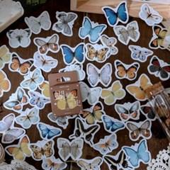 나비 다이어리 다꾸 스티커 팩